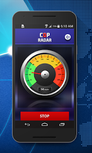 Cop Radar-Speed Detector- screenshot thumbnail