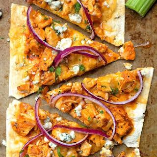Lightened Up Flatbread Pizzas.