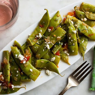 Stewed Romano Beans With Tomatoes