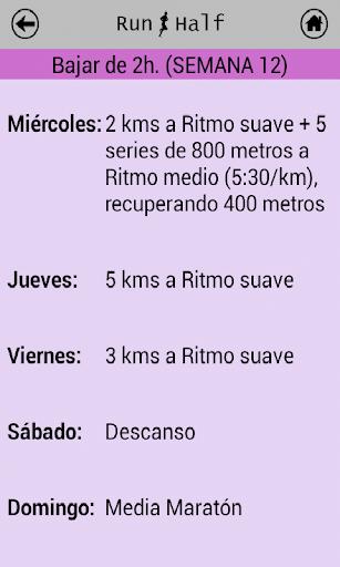 玩免費健康APP 下載Entrenos media maratón app不用錢 硬是要APP