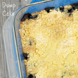 Blueberry & Lemon Dump Cake