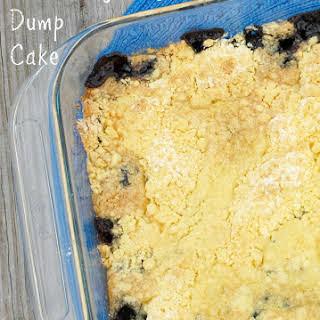Blueberry & Lemon Dump Cake.