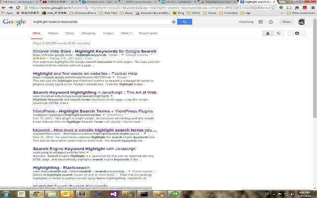 Highlight Search Keywords