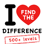 I Love Find The Difference Icon