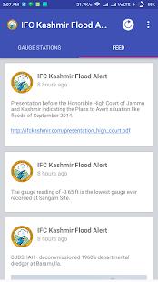 IFC Kashmir Flood Alert - náhled