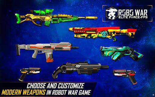 Real Robots War Gun Shoot: Fight Games 2019 1.1.3 screenshots 4
