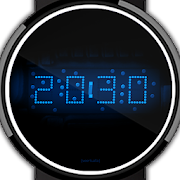 LED watch face | Vintage | Seventies Sapphire