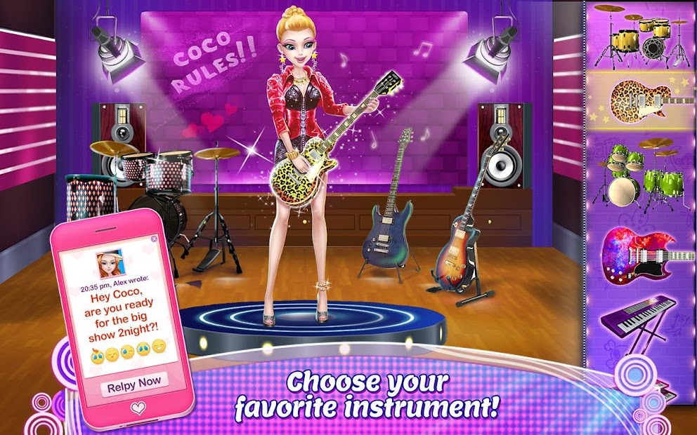Music Idol - Coco Rock Star Android App Screenshot