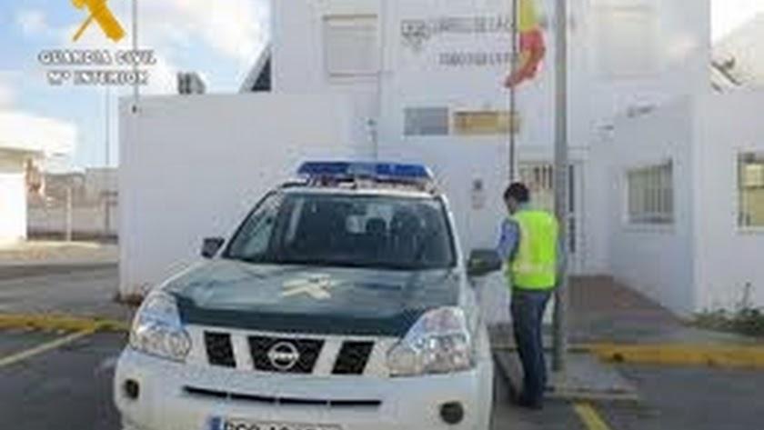 La Guardia Civil detuvo al hombre.