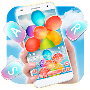 App Colorful Float Balloon Keyboard Theme APK for Windows Phone