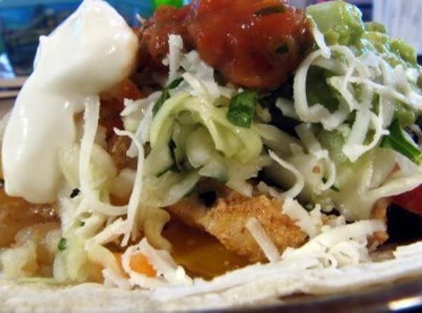 Fajitas With Spicy Coleslaw Recipe