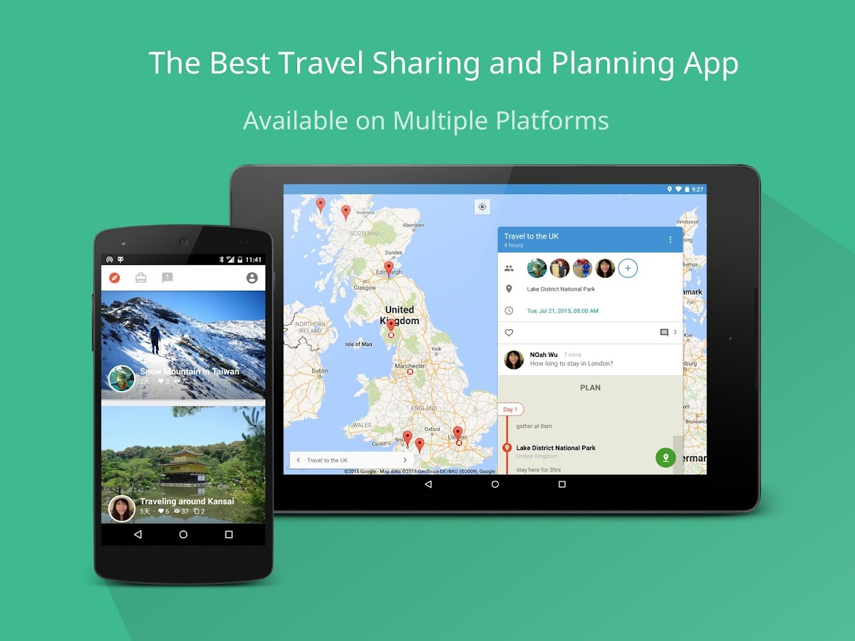 Jourmap: Trip Planner & Blog- screenshot