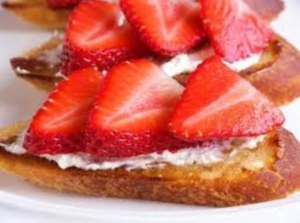 Strawberry Bruschetta (homemade Style)