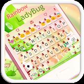Rainbow Ladybug Emoji Keyboard