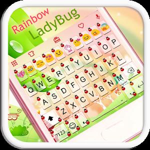 Rainbow Ladybug Emoji Keyboard for PC and MAC