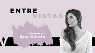 Ana García charla en directo en una EntreVista de LA VOZ.