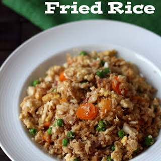 Cauliflower Fried Rice.