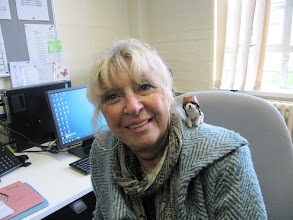 Photo: UMD 2012 Study in England programme director, Judith Kritzmire (and Doggie)