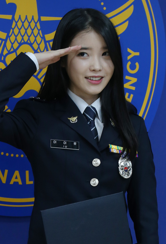 IU Promoted to Senior Police Officer