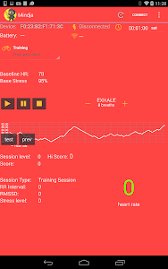 Mindja: Stress Relief HRV screenshot 1