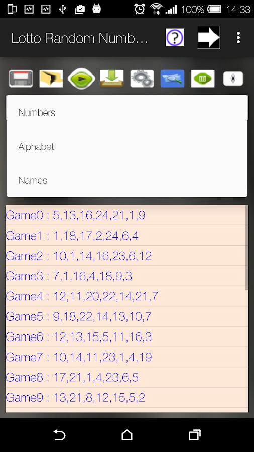 lotto 6 49 random number generator