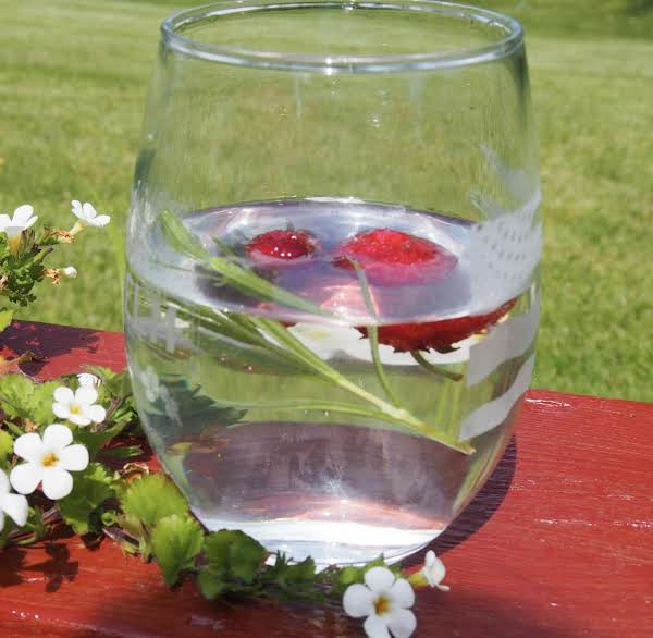 Strawberry-lavender Infused Water Recipe