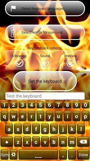 消防鍵盤主題