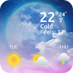 Weatherapp - Forecast Weather - Free Weather Apps icon