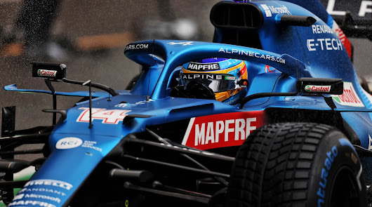 Discreta actuación de Alonso y Sainz en los entrenamientos del GP de Belgica