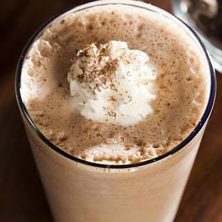 Frothy Chocolate Shake.