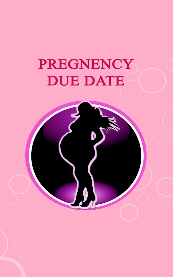 Pregnancy calculator by due date