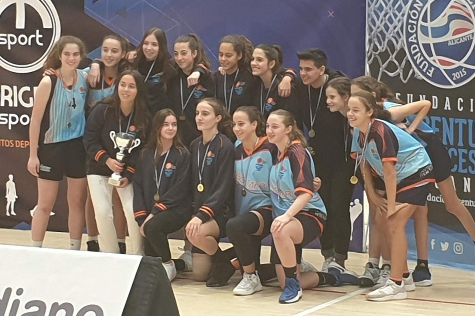CBF Cabo Mar en la Basket Cup 2019