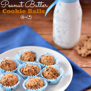 Crunchy Peanut Butter Cookie Balls with Just 3 Ingredients