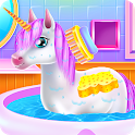 Cute Unicorn Caring and Dressup icon