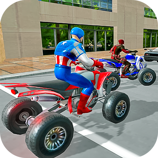 Grand Superheroes Endless ATV Quad Racer