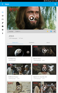 Jesus Film Media- screenshot thumbnail