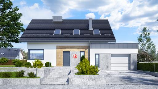 projekt Dom przy Modrzewiowej 15