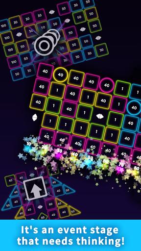 Code Triche Bricks Breaker Neon 9 mod apk screenshots 2