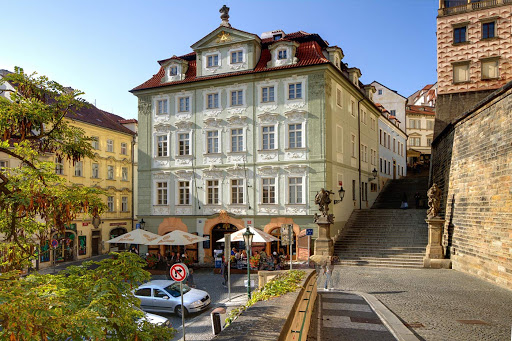hotel-golden-star.jpg - Hotel Golden Star is newly reconstructed design hotel located in an ornate baroque building in Prague with great views of Prague Castle, Old Town and Malá Strana. Dine in the outside terrace before ascending the 270-year-old staircase.
