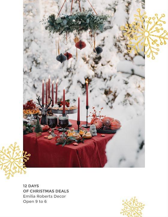 12 Days of Christmas Deals - Christmas Template