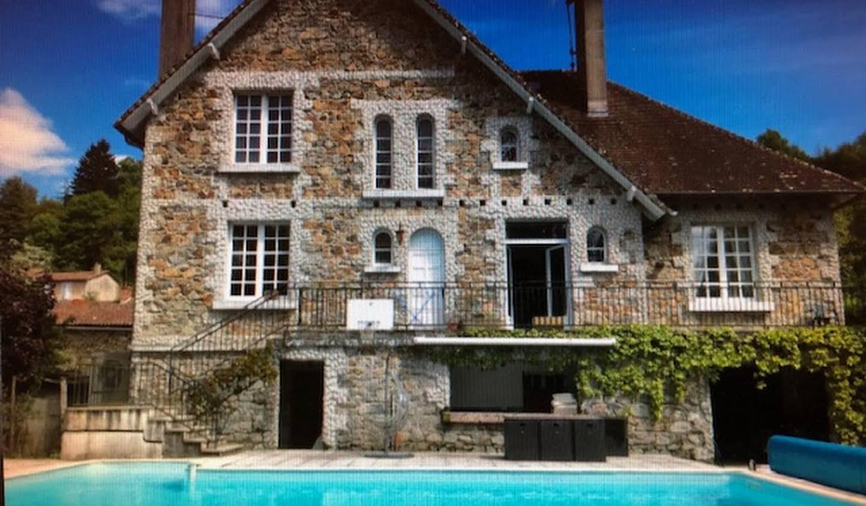 Villa avec piscine et jardin Confolens