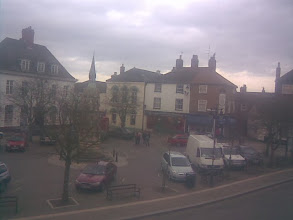 Photo: A lower angle shot of the NE corner of the market. If the yellow Achurch building looks like a church, it is, or was, in Saxon times. Bodies having to be re-intered after the cellars in that row were dug in the Georgian era.