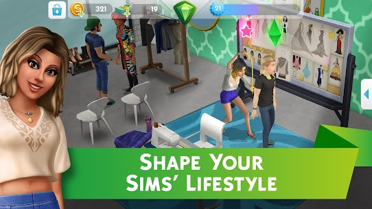 The Sims Mobile Mod Apk 24.0.0.104644 (Unlimited Money) 4