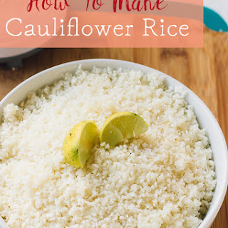 Spicy Cauliflower Rice Recipes