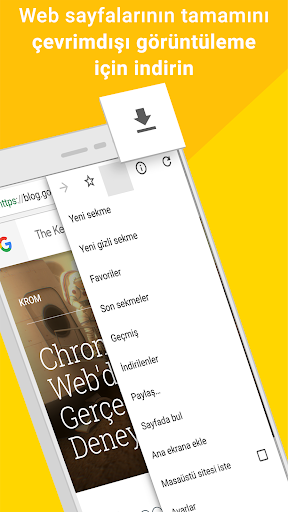 Google Chrome:Hızlı ve Güvenli screenshot 3