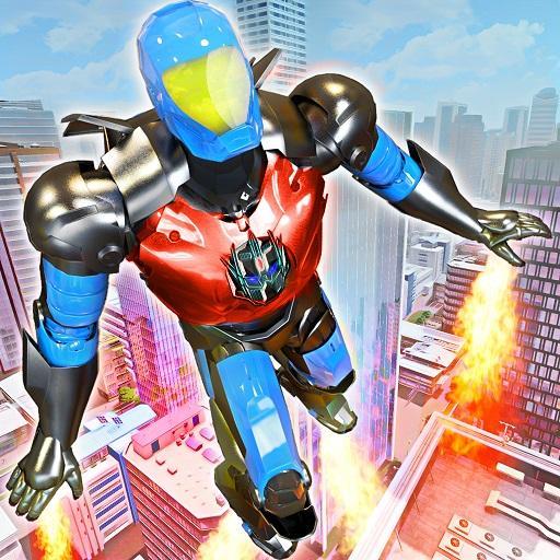 Flying Robot War Hero Survival