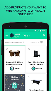 Win It! - Spin Daily to Win- screenshot thumbnail
