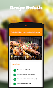 Grilled Recipes- screenshot thumbnail