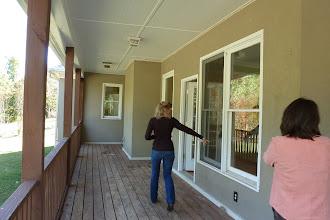 Photo: Door to breakfast, den, kitchen area.