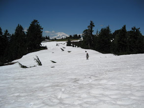 Photo: snow snow snow on a huge long section on a long ridge